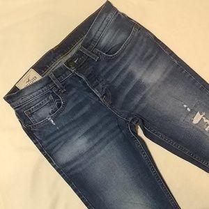 Hollister Hollister Super Skinny Distressed Jeans